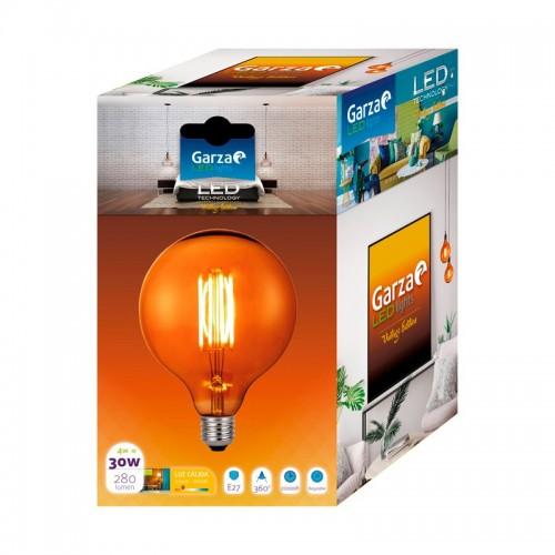 Color de luz - Luz cálida, Casquillo - E27, Potencia - 4 W, Modelo/Color - Gold