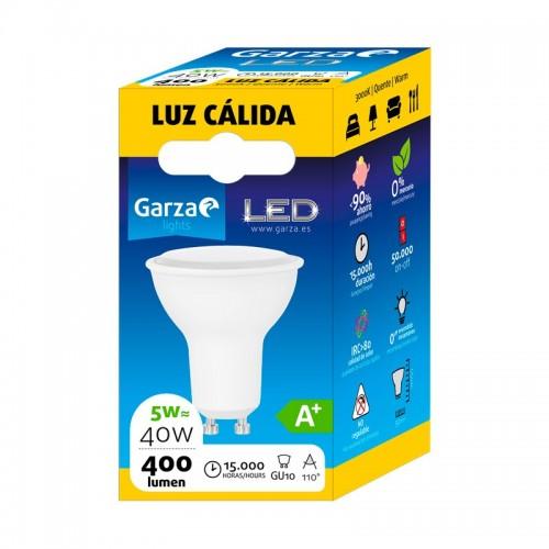 Color de luz - Luz cálida, Potencia - 5 W, Casquillo - GU10