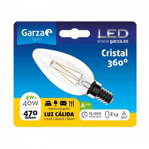 Casquillo - E14, Color de luz - Luz cálida, Potencia - 4 W