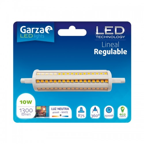 Bombilla LED Lineal Regulable Blister x 1 Ud - GARZA